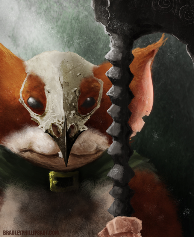 Just some fan art i did for mouse guard enjoy