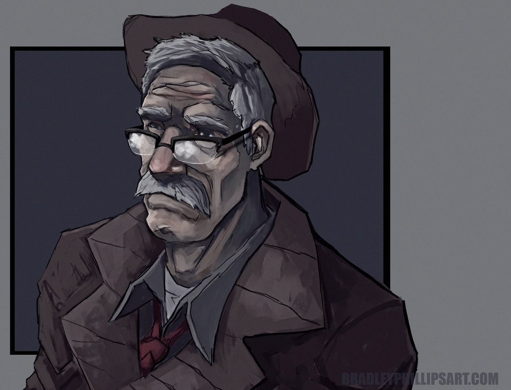 Hello all.  I've recently been watching a lot of the tv show Gotham.  I gotta say, I didn't like it at first but now I'm hooked.  I really love seeing young Jim Gordon's story.  The sketch above is old Jim but he is my favorite and I just couldn't resist doing a quick paint of him.