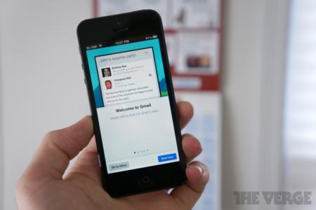 GMail 2.0 for iOS. Holo looks good on iOS :)
