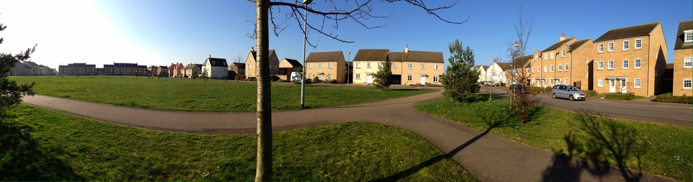 Stour Green is sought after for its open expanse