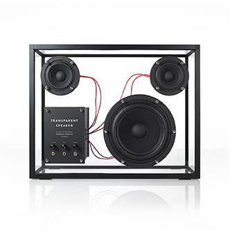 The Transparent Speaker, from People products