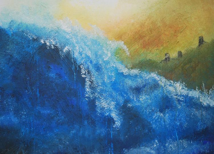 Peinture acrylique le blog de for Technique de peinture murale a l eponge