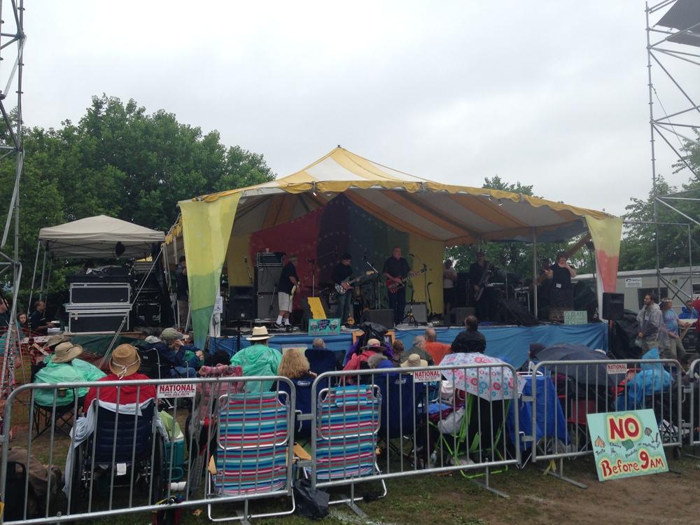 VAGABLONDER TRAVEL: Clearwater Music Festival, Croton-on-Hudson, NY where I saw David Crosby, June, 2015.