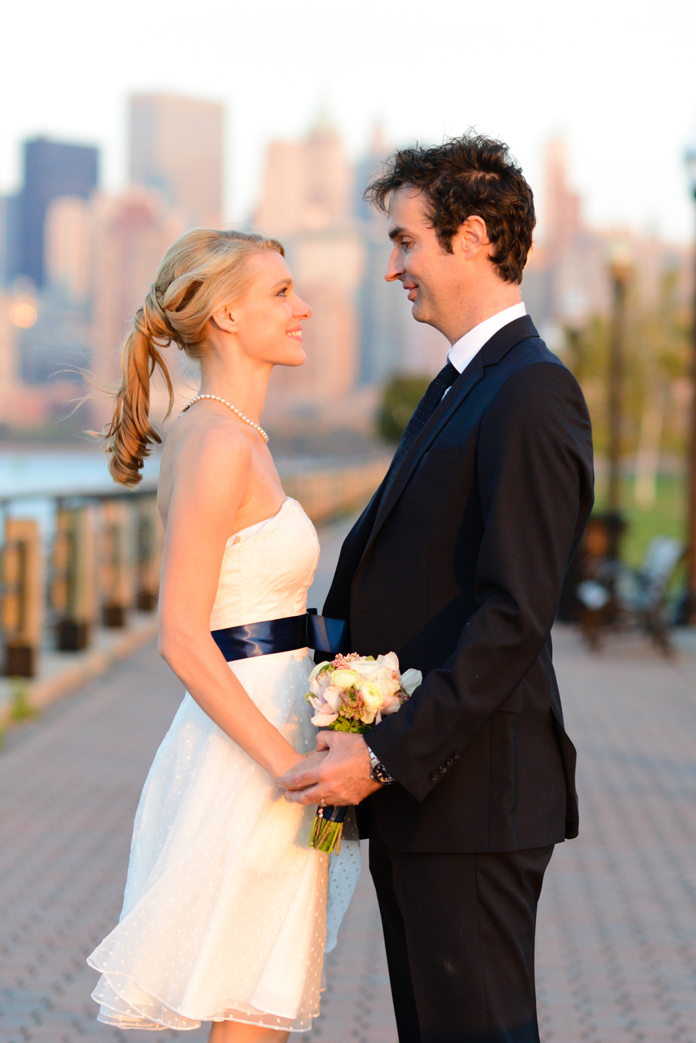 Liberty State Park Wedding