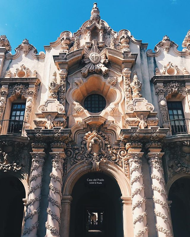Stunning architecture at Balboa Park