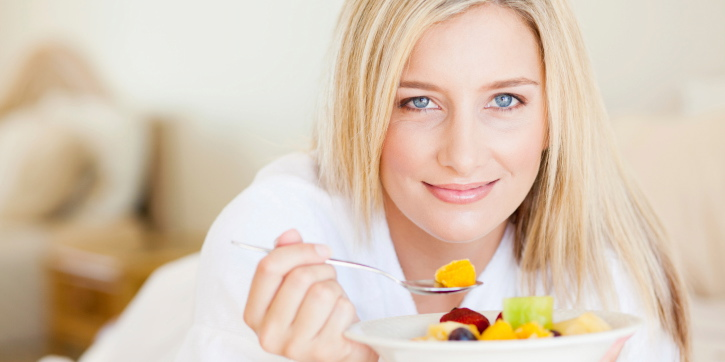 Fruits are beneficial over grains. Higher starch consumption is associated with diabetes, fruits are inversely related.