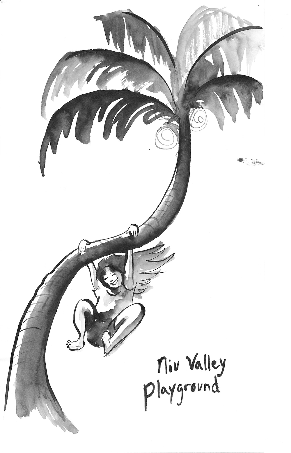 Logo for the Niu Valley Playground Group