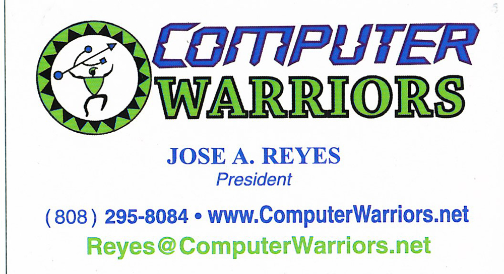 Logo for Computer Warriors