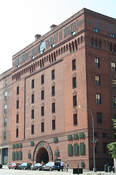 The Eagle Warehouse Building, Dumbo, Brooklyn.  1893, Frank Freeman, Architect.  Currently used as high-end condominiums.