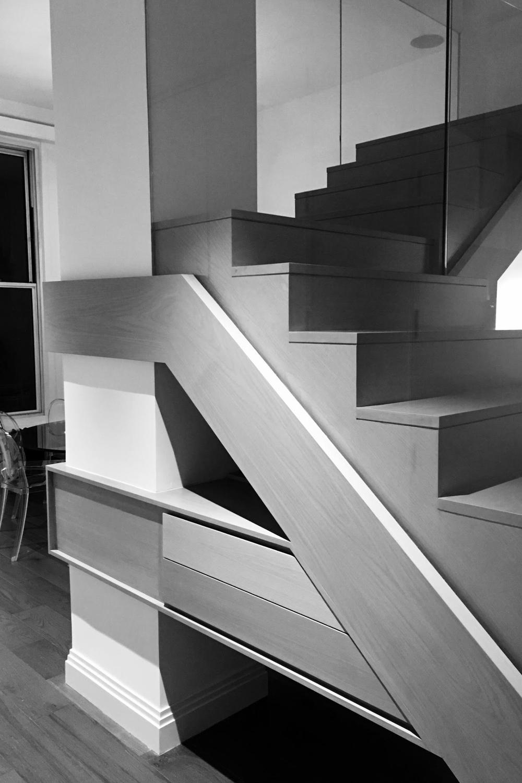 Davis Residence Stair
