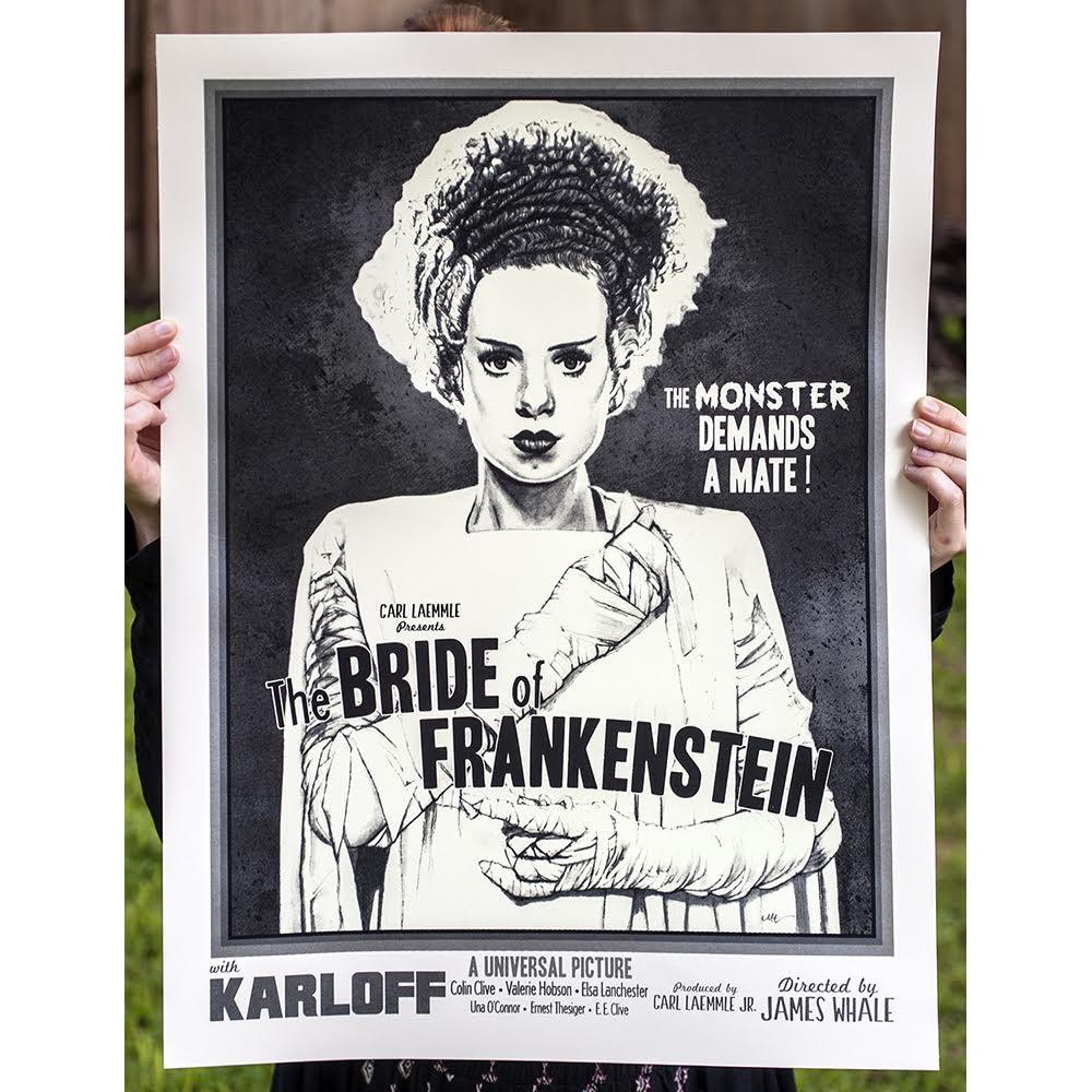 BRIDE OF FRANKENSTEIN - 1st Edition