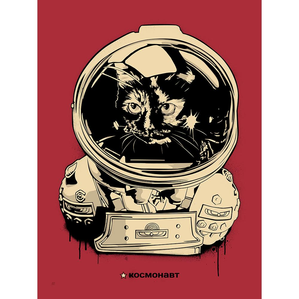 космонавт JONESY - RED