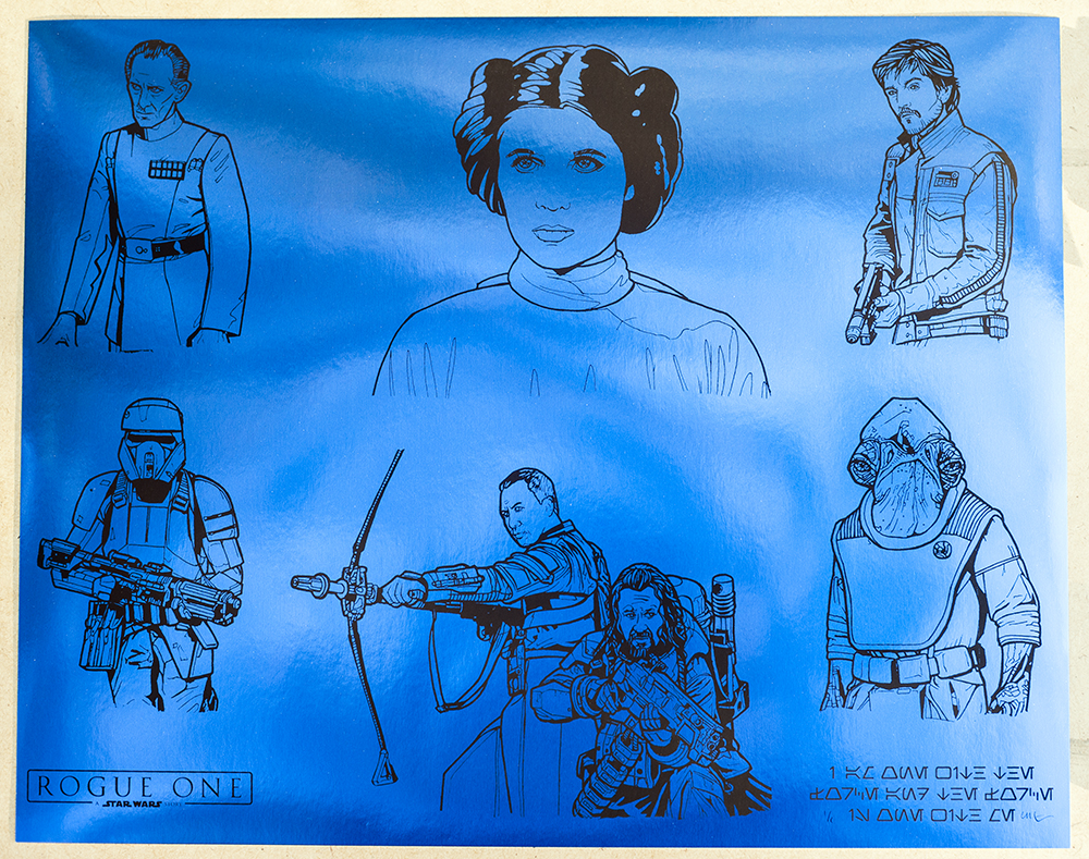 Ages 4 and Up - Series 2: Rogue One - Uncut Sheet - 1/1 Variant