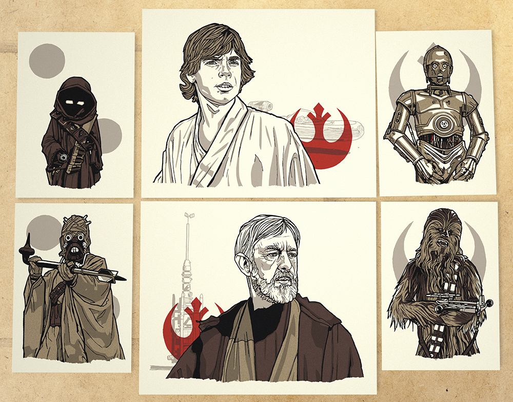 Ages 4 and Up - Series 3: A New Hope