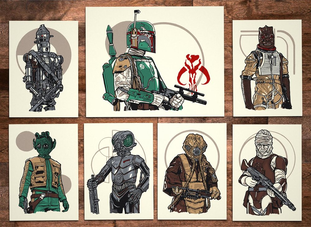 Ages 4 and Up - Series 9: Bounty Hunters