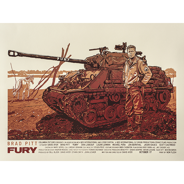 FURY - 1st Edition
