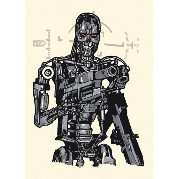 Endoskeleton (Handbill)