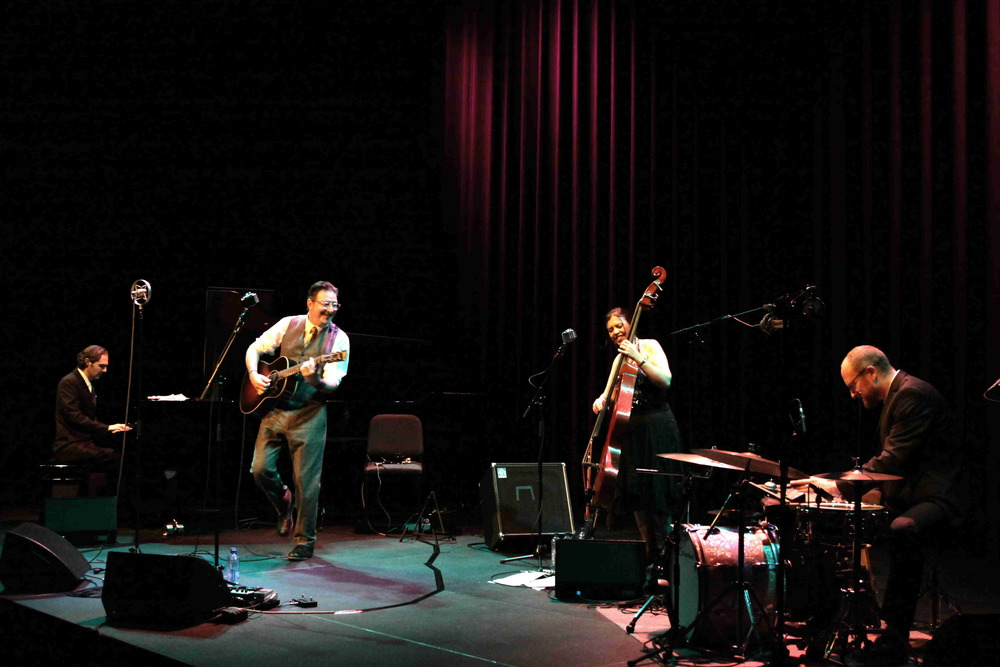Gregory Page Quartet at Lantaren Venster 2