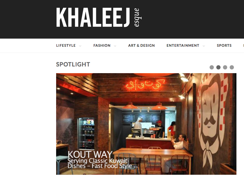 Khaleejesque kout way coverage