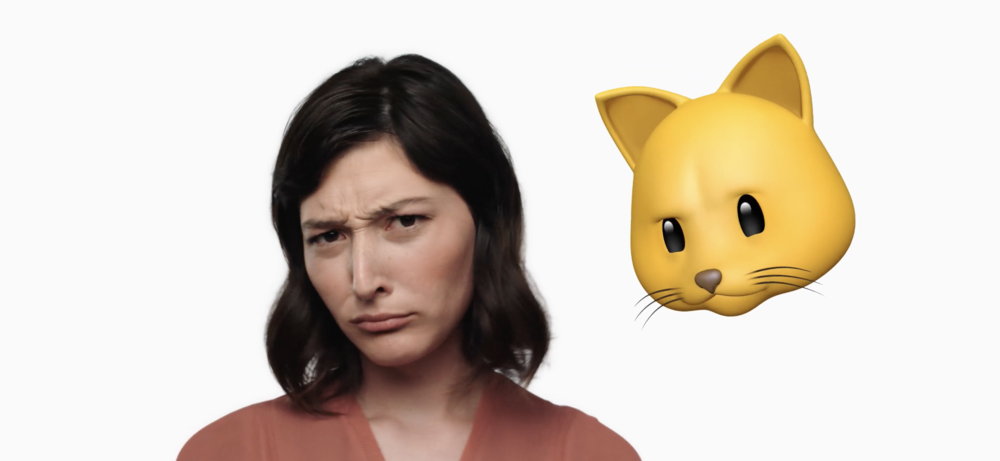New facial recognition emojis reflect your expression.