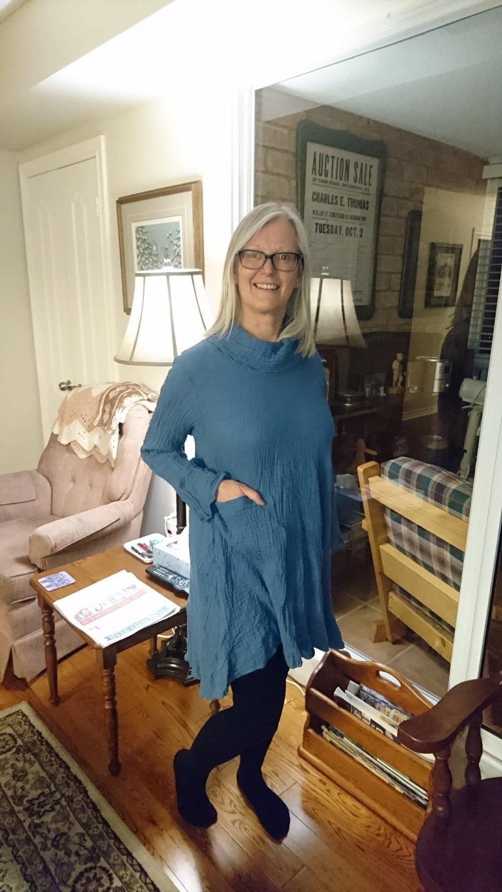 Sproule's Emporium Lynn Rolled Neck Dress.JPG