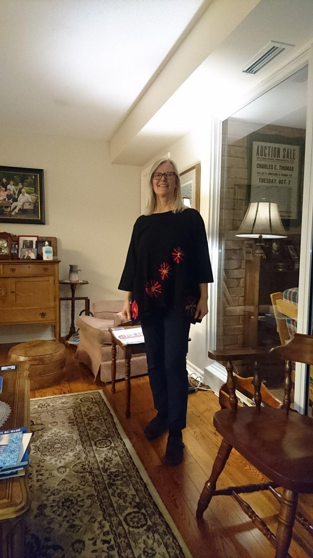 Sproule's Emporium Lynn Tye Dye Shirt Black.JPG