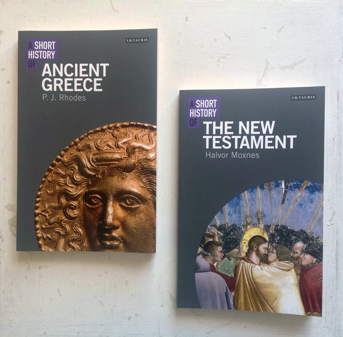 Out Now Short Histories Of Ancient Greece And The New Testament