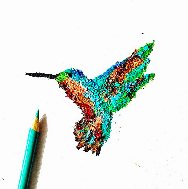 @meghanmaconochie - She does amazing pencil shaving art.