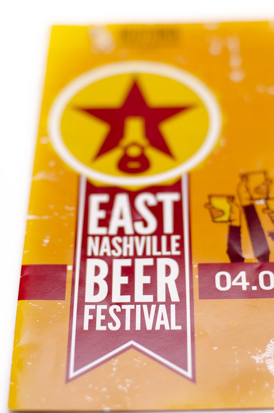 East Nashville Beer Festival poster