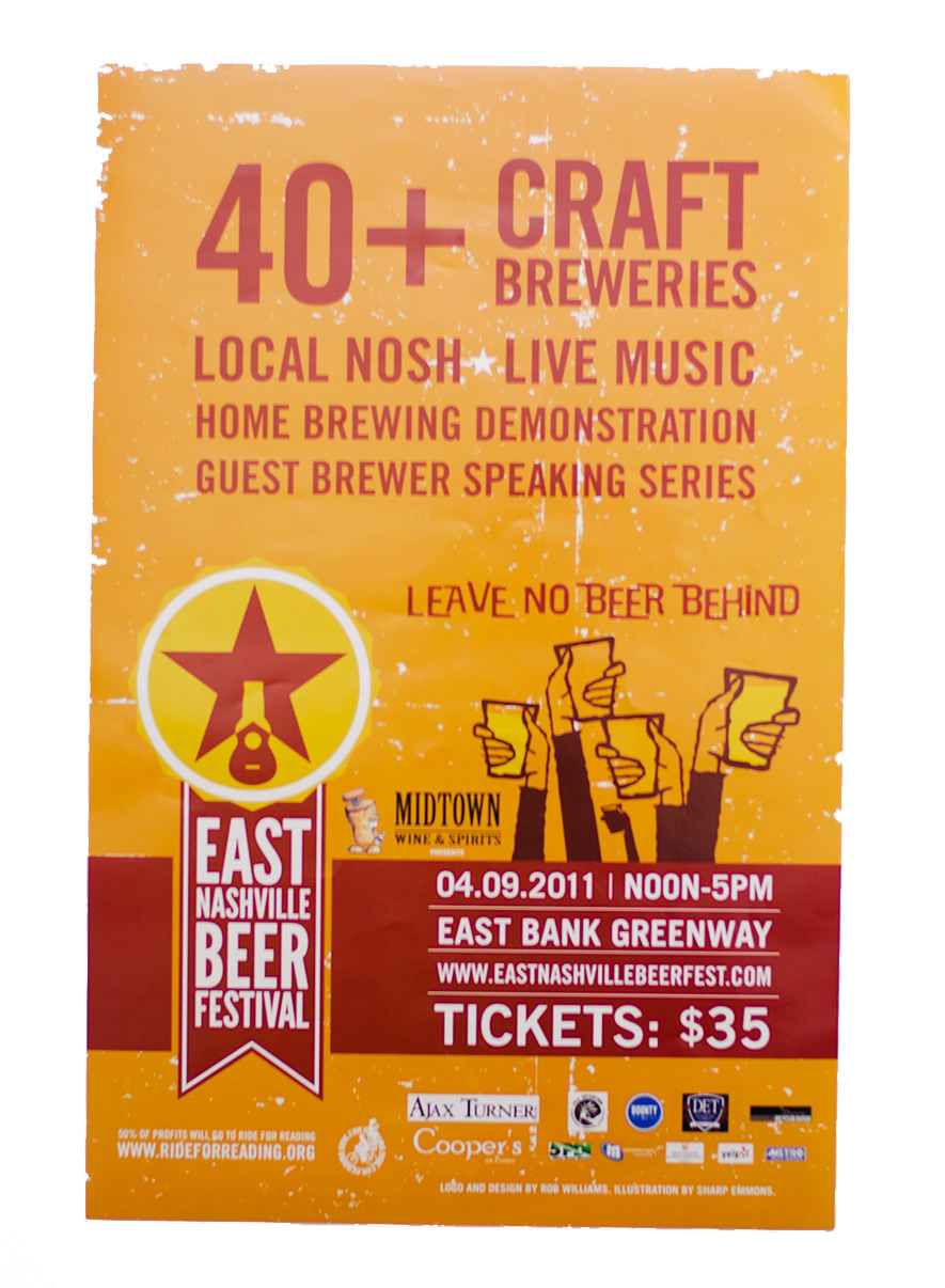 East Nashville Beer Festival guidebook