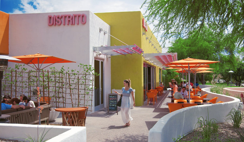 Mexicali food inspired eatery, Distrito is headed by iron chef.