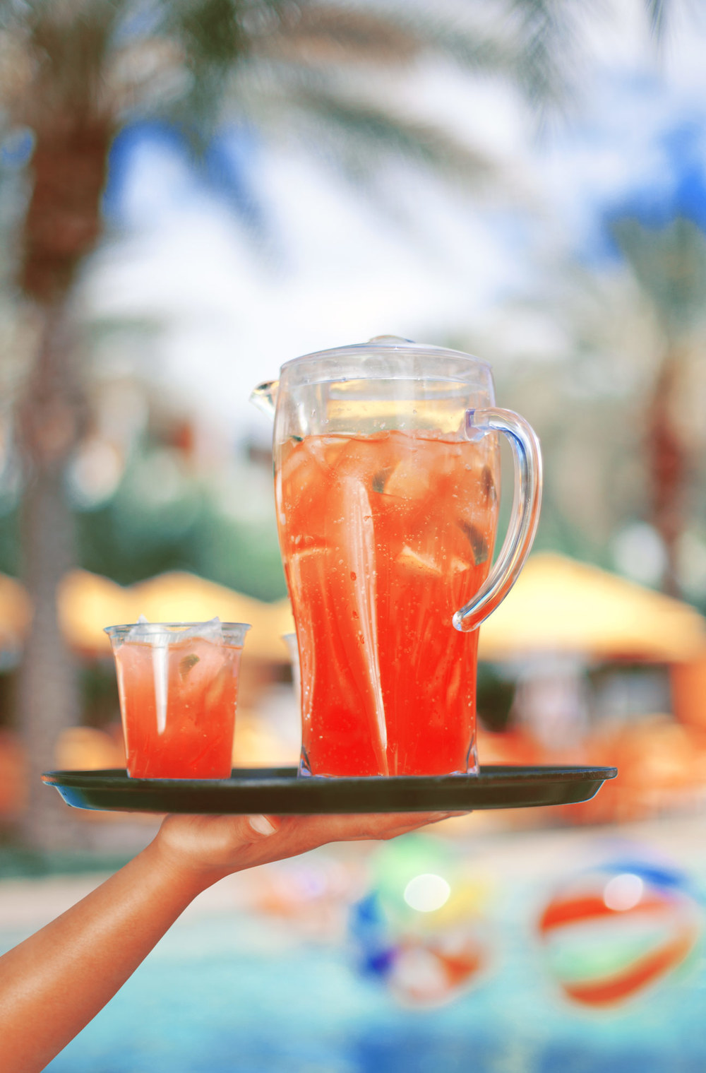The Saguaro poolside drinks