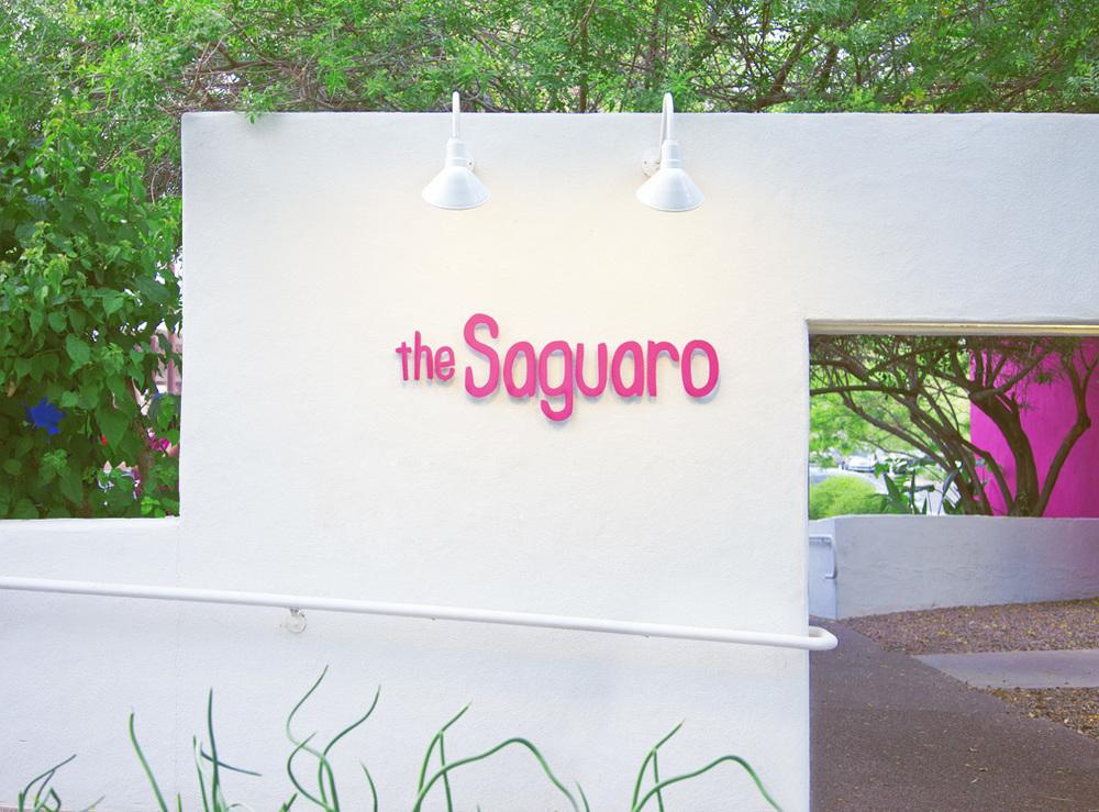 The Saguaro Signage