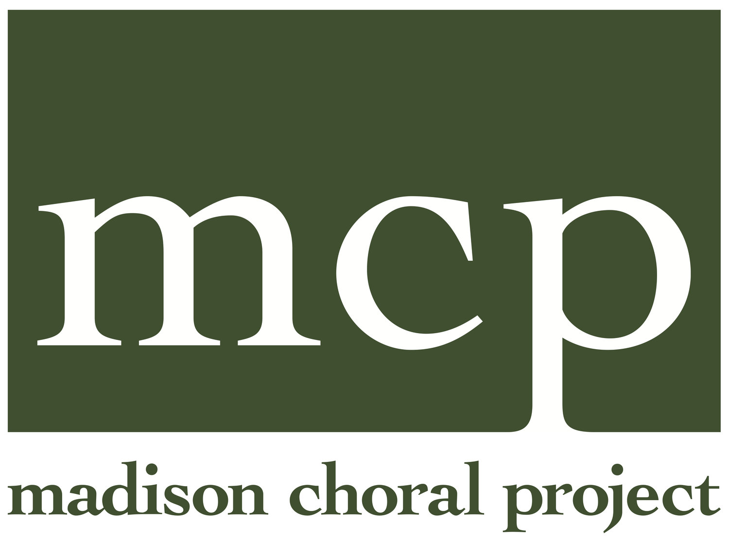 Madison Choral Project - Albert Pinsonneault, conductor