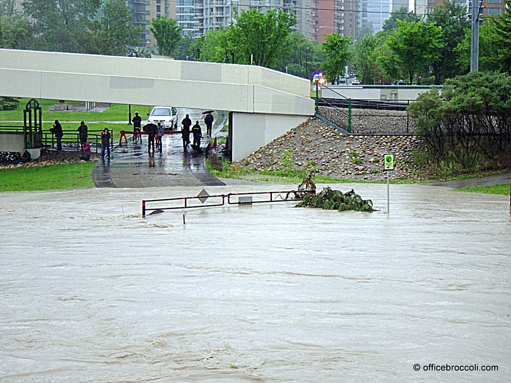 June 2013. Near 4 Ave SW & 10 St SW