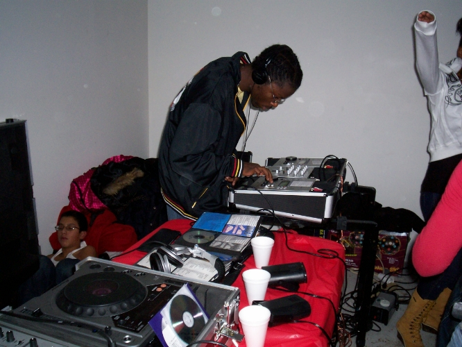 My first documented party, 2006 Reading Pa. basement