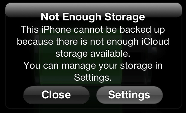 With Your Free ICloud Account You Get 5GB Of Storage At No Cost Device Backs Up Nightly To And Is Eating Away That Limit