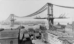 Manhattan Bridge, 1909