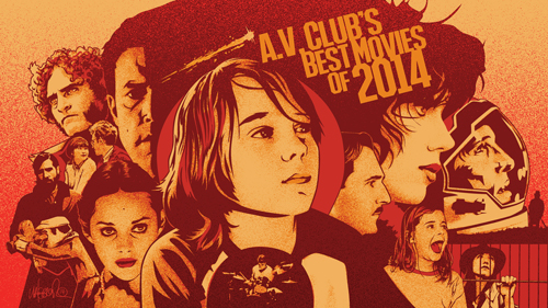 Best Movies of 2014  - provided spot illustration