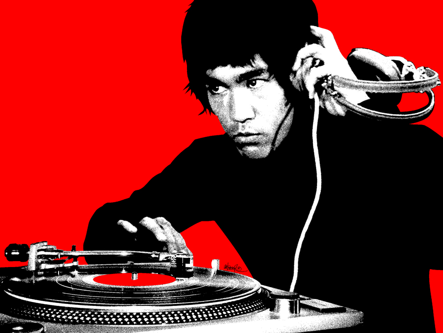 novel style select for latest high quality materials DJ Bruce Lee — Jeremy Wheeler