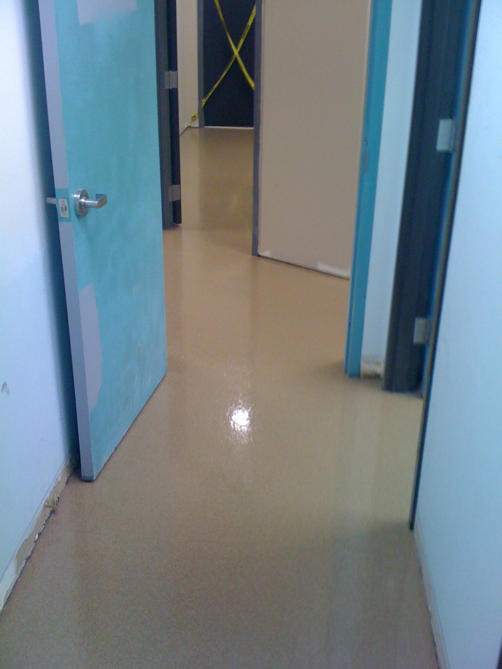 Specialty Flooring Systems : Decorative quartz flooring system installed — j wesselman