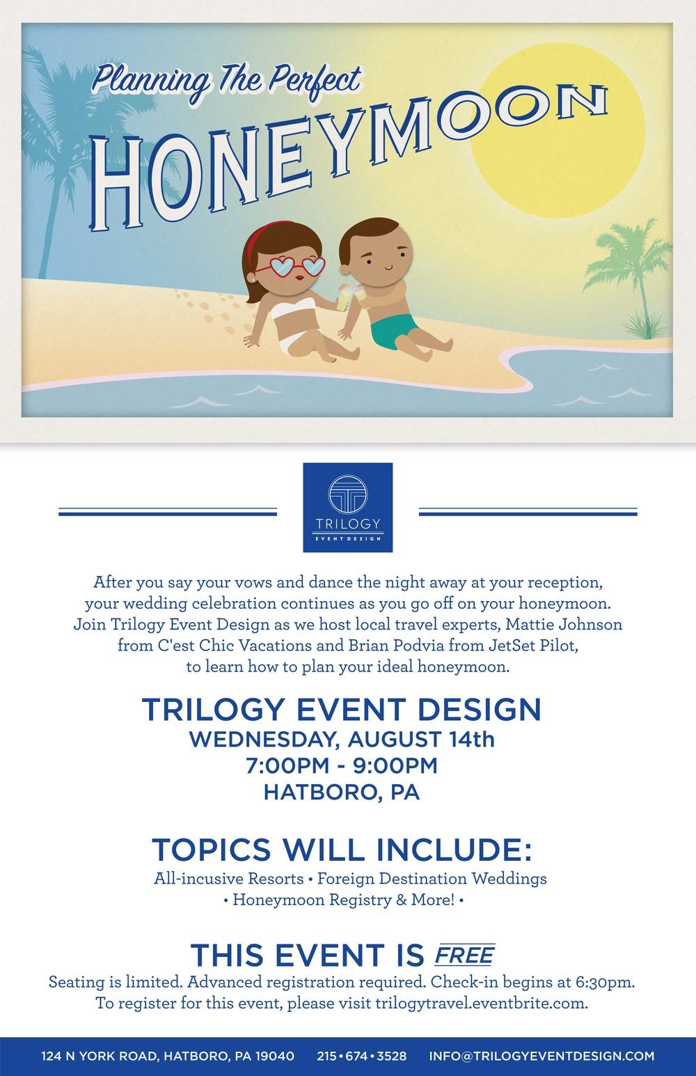 Poster design by Trilogy Event Design Designer, Teddy Nguyen
