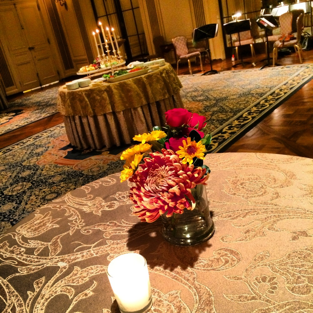 Papertini was the floral designer for Bob and Tom's wedding at the Hotel DuPont