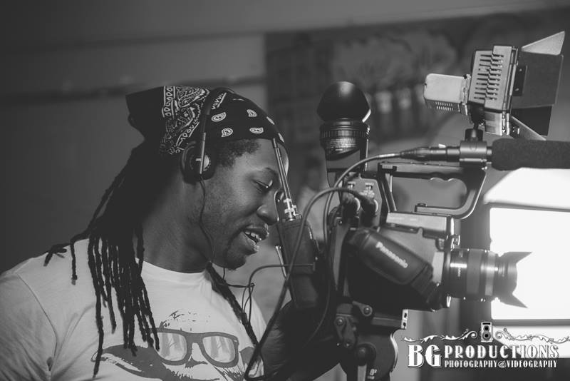Videographer Al Green. Photograph by BG Productions