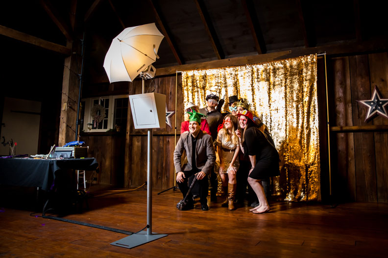 The Party Cam Photo Booth. Photo by Mike Morby
