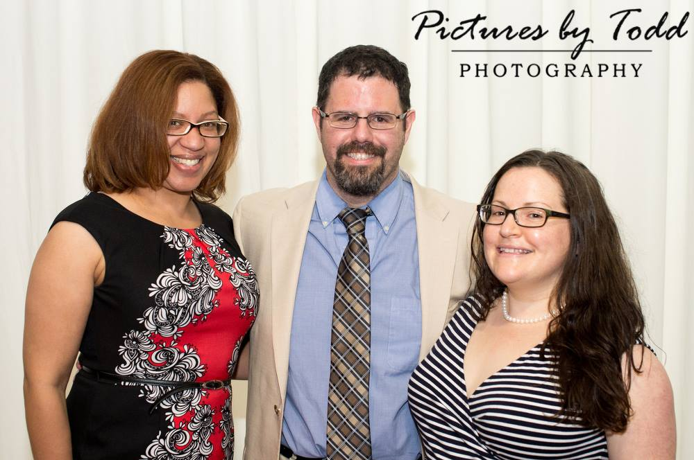 From left to right: Chief Event Planner Randi Martin, General Manager Michael Magro Jr, and Creative Director Francesca Staffieri