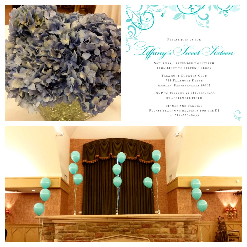Tiffany's Sweet 16 at Talamore Country Club