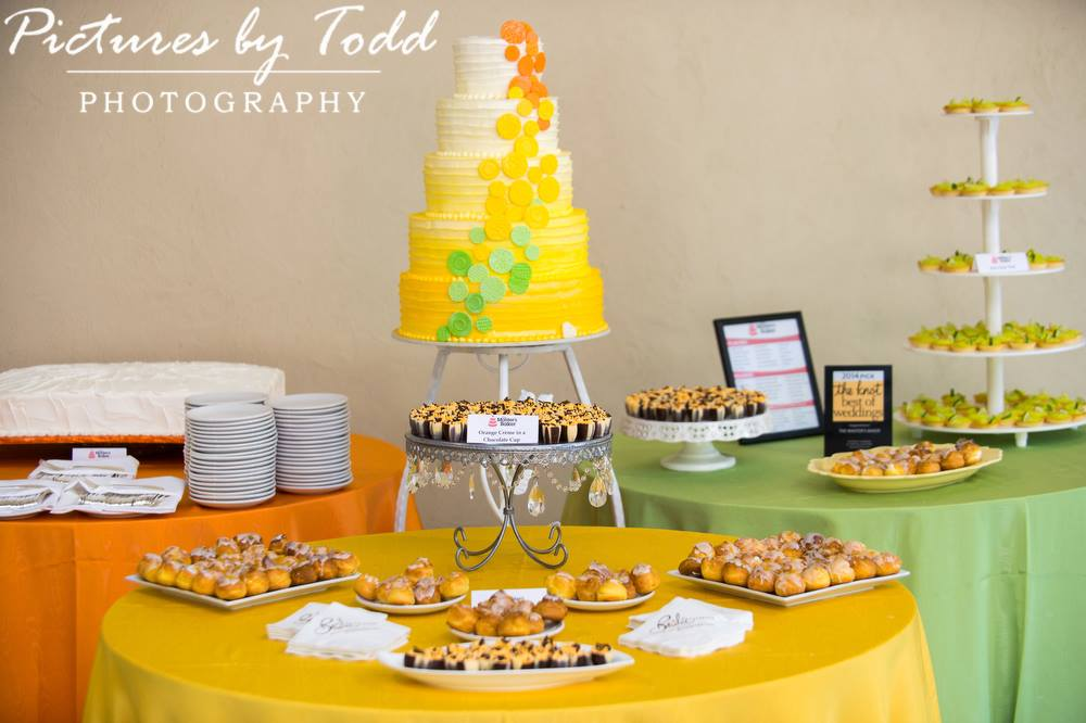Cake by The Master's Baker. Photo by Pictures by Todd Photography