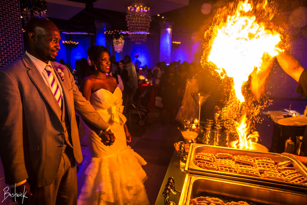 Arlene & Chirod's Tendenza Wedding.Photo by Daniel Bostwick Photography