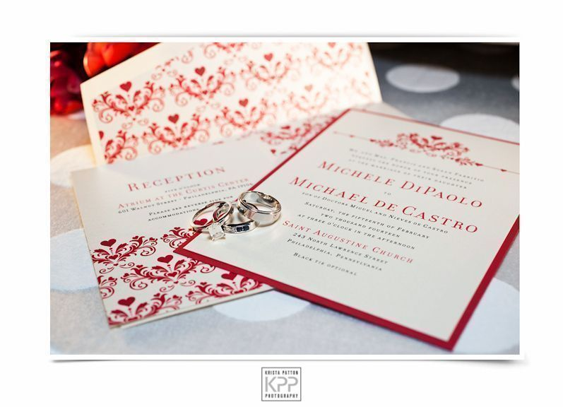 Custom-designed wedding invitation suite by Trilogy Event Design's Creative Director Francesca Staffieri. Photo by  Krista Patton Photography
